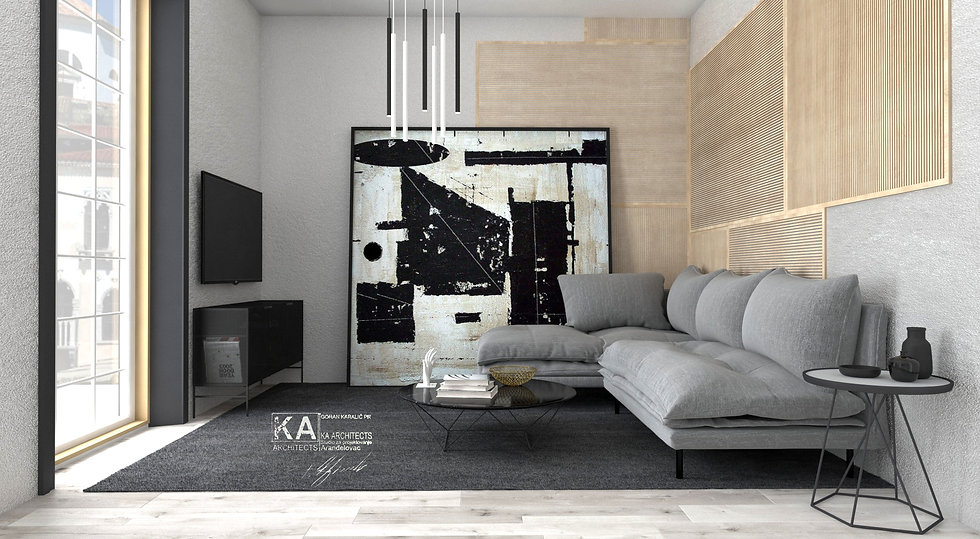 Reconstruction and Interior Design for rental purposes