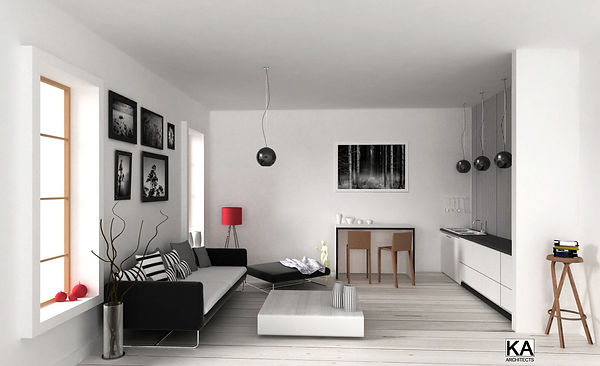 Modena, Italy  apartment 60 square meters interior desgn