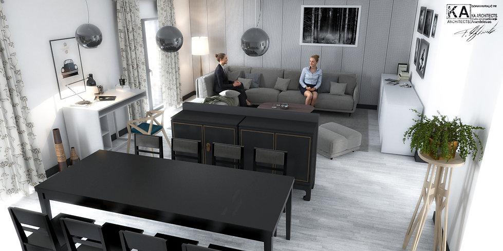 Interior design - Apartment,  Palermo, Italy