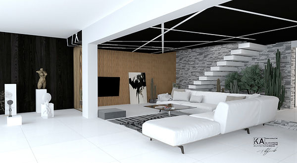Sunset Villa, Sicily, inteior design