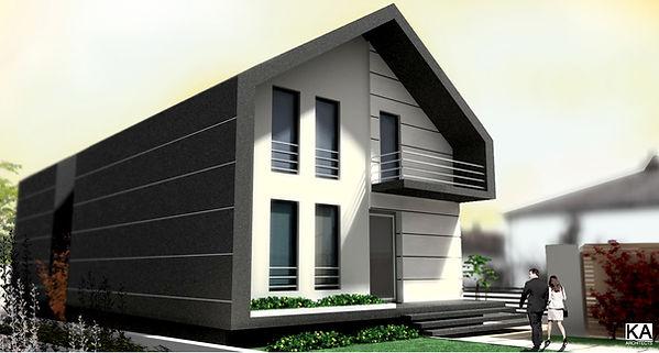 Arandjelovac, Serbia  architecturaldesign project single family home