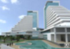 Budva, Montenegro  hotel architectural design concept