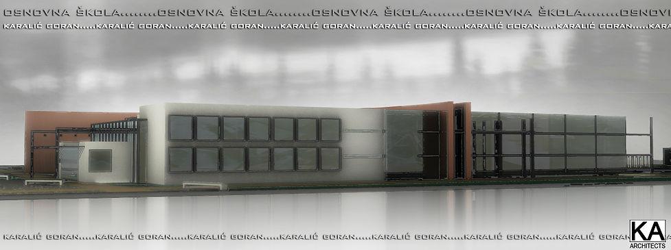 NIs, Srbija elementary school architectural design