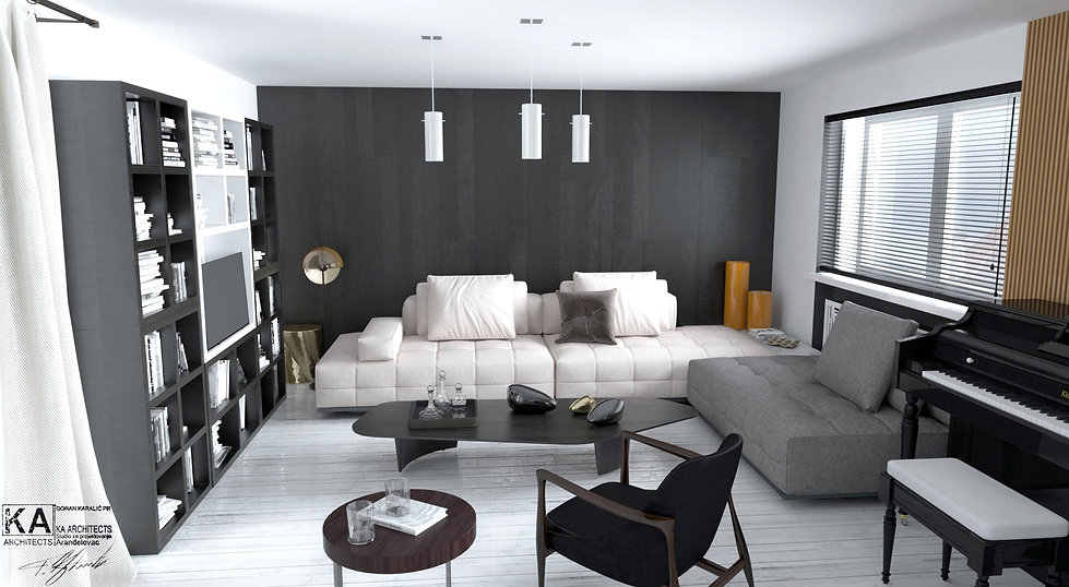 Interior design - Apartment,  Luxembourg luxary living