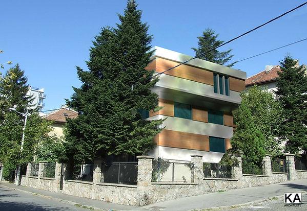 Belgrade, Serbia  residential building  Lekino Brdo - reconstruction and adaptation architectural design