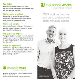 Creative for Insurance Works