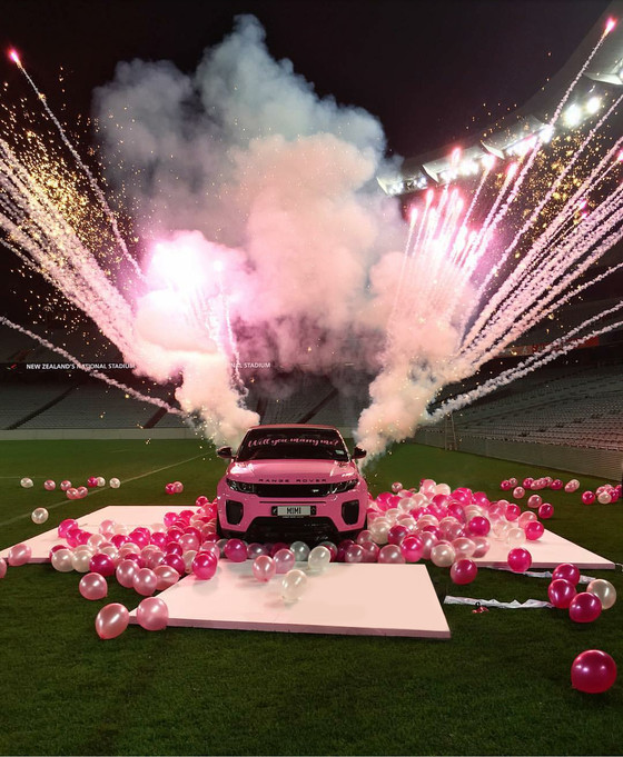 NZ's most extravagant marriage proposal