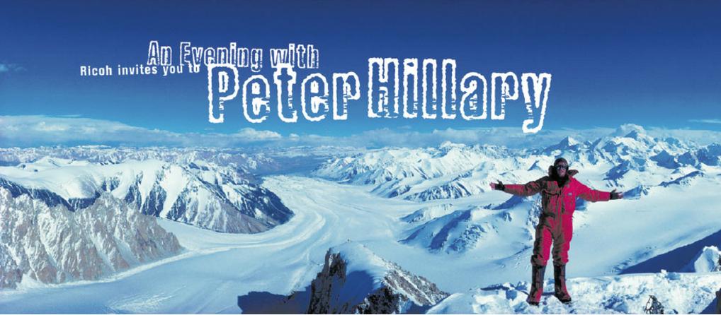 Ricoh - Peter Hillary