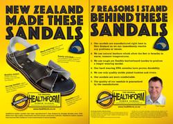 Ad campaign for Douglas Sandals