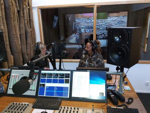 Dutch Blues Radio at Omroep NOOS Gerda Roos interviews Sugar Queen