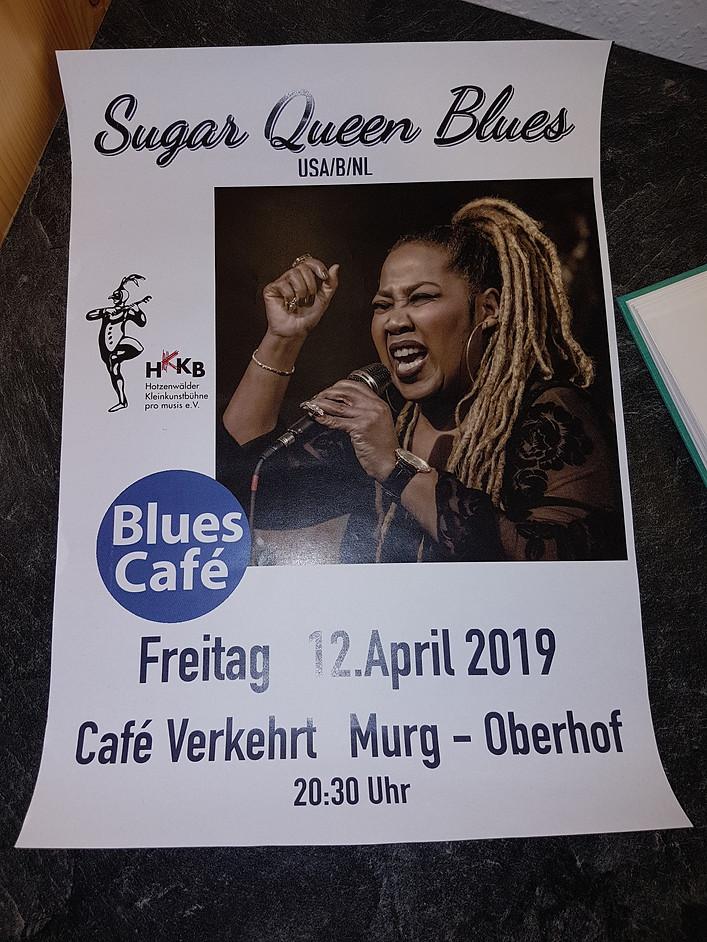 Cafe Verkehrt Poster