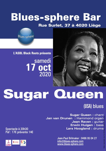 Sugar Queen at BluesSphere