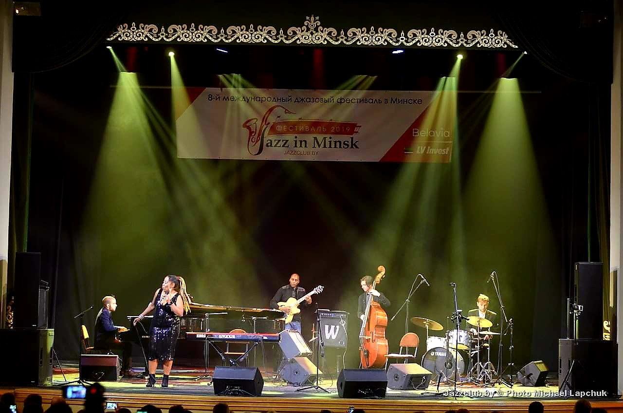Sugar Queen brings the Blues to the 8th International Festival JAZZinMINSK-2019