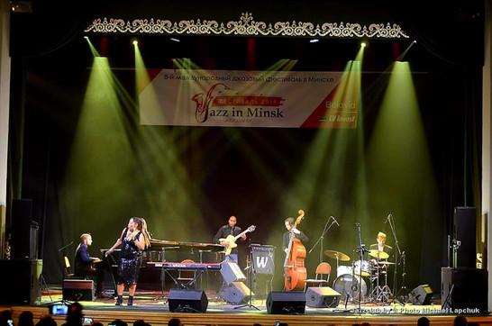 Sugar Queen brings the Blues to the 8th International Festival JAZZinMINSK-2019