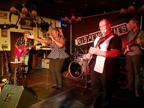 Nispen Blues Festival and the Queen