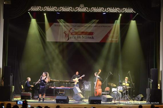 Sugar Queen at Jazz in Minsk, Belarus