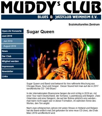 Sugar Queen at Muddy's Club