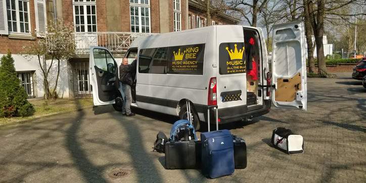 King Bee Music Agency Transport is the best!