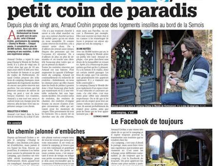 (press) Herbeumont: le camping «Champ le Monde» petit coin de paradis