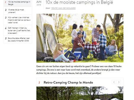 (press) n1/10  de mooiste campings in België  ;)