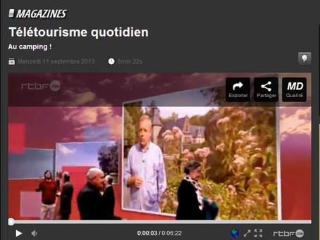 (TV)  l'Emission TELETOURISME de la RTBF