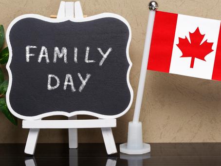 O que é o family day no Canadá?