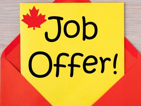 Como conseguir uma job offer do Canadá, ainda no Brasil? 2021