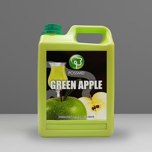 Green Apple Syrup (case)