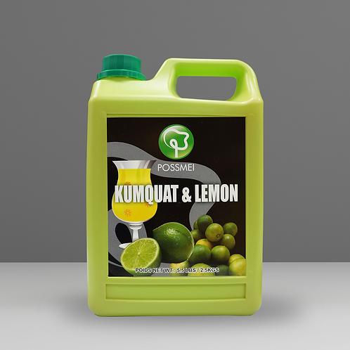 Kumquat & Lemon Syrup (case)