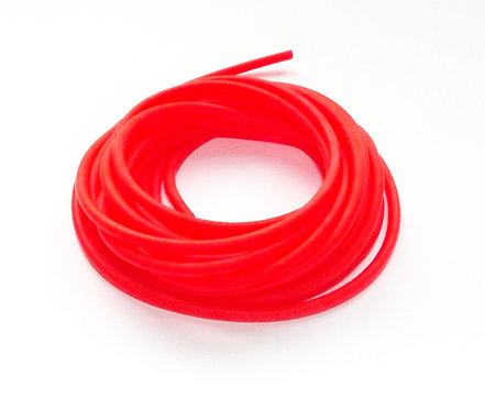 2 Core Red Hollow Pole Elastic Size 14-17