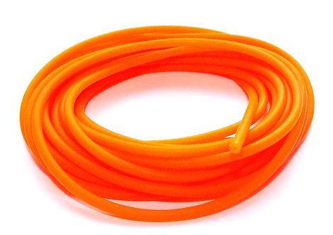 2 Core Orange Hollow Pole Elastic Size 6-10