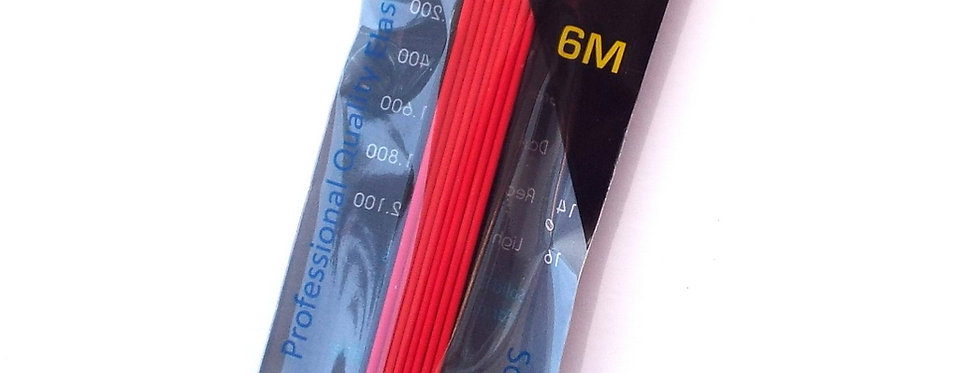 1 Core Red Solid Elastic size 14, Diameter 1.8mm
