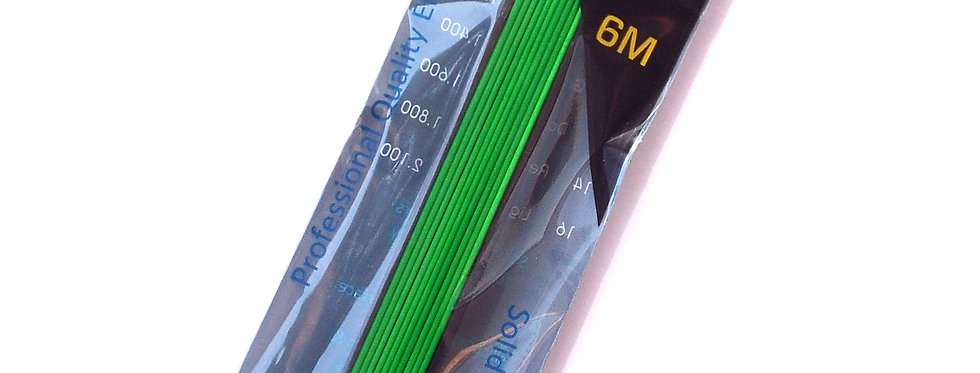 1 Core Green Solid Elastic size 10 Diameter 1.4mm