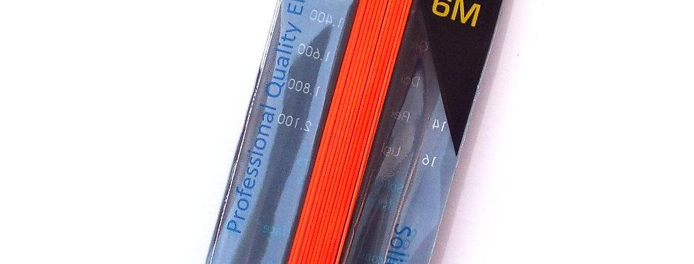 1 Core Orange Solid Elastic size 8 (Dia 1.2mm)