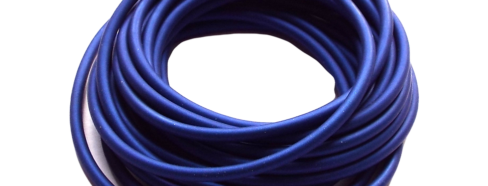 2 Core Blue Hollow Pole Elastic Size 18-20