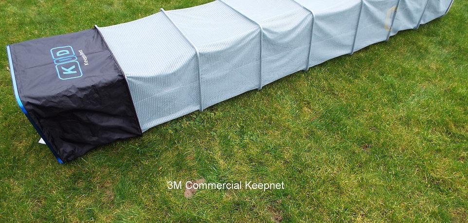 3M Grey Keepnet with Blue Rim &  Black Nylon Top Section
