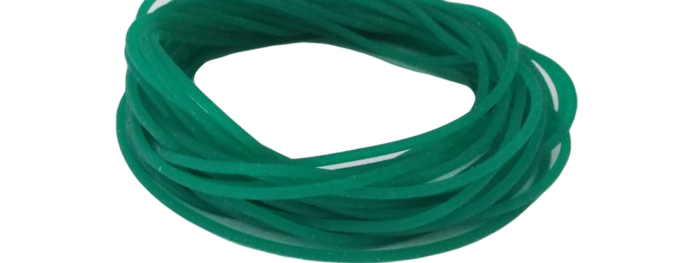 1.4mm Green Xcrossover Solid Elastic Size 7-10