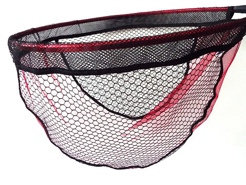 Red/Black Netting Match Landing Net 50x40