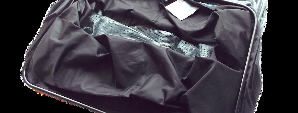 3M Grey Keepnet with Black Rim & Nylon Top Section
