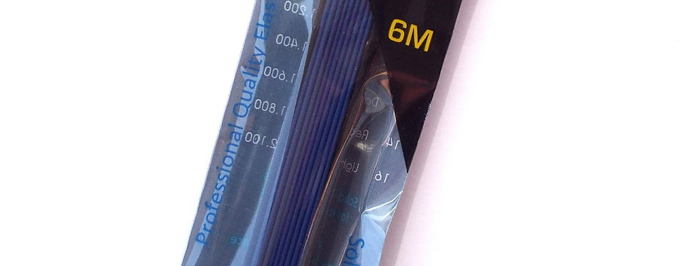 1 Core Blue Solid Elastic size 12, Diameter 1.6mm