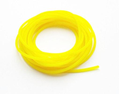 2 Core Yellow Hollow Pole Elastic Size 9-12