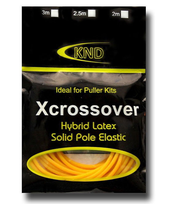 2.0mm Yellow Xcrossover Solid Pole Elastic Size 12-14