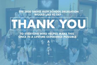 """Takko Machi """"Thank You"""" Illustration"""
