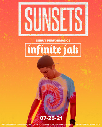 Infinite Jak Promotional Poster for Sunsets at Crawdads .jpg