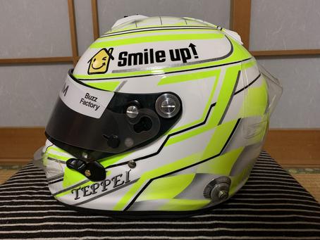 New ヘルメット!!!