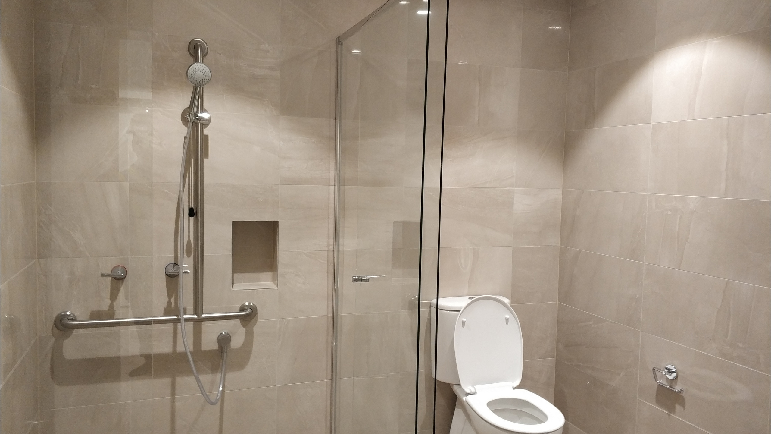Shower and Toilet Wall Tiles at Toongabbie Project