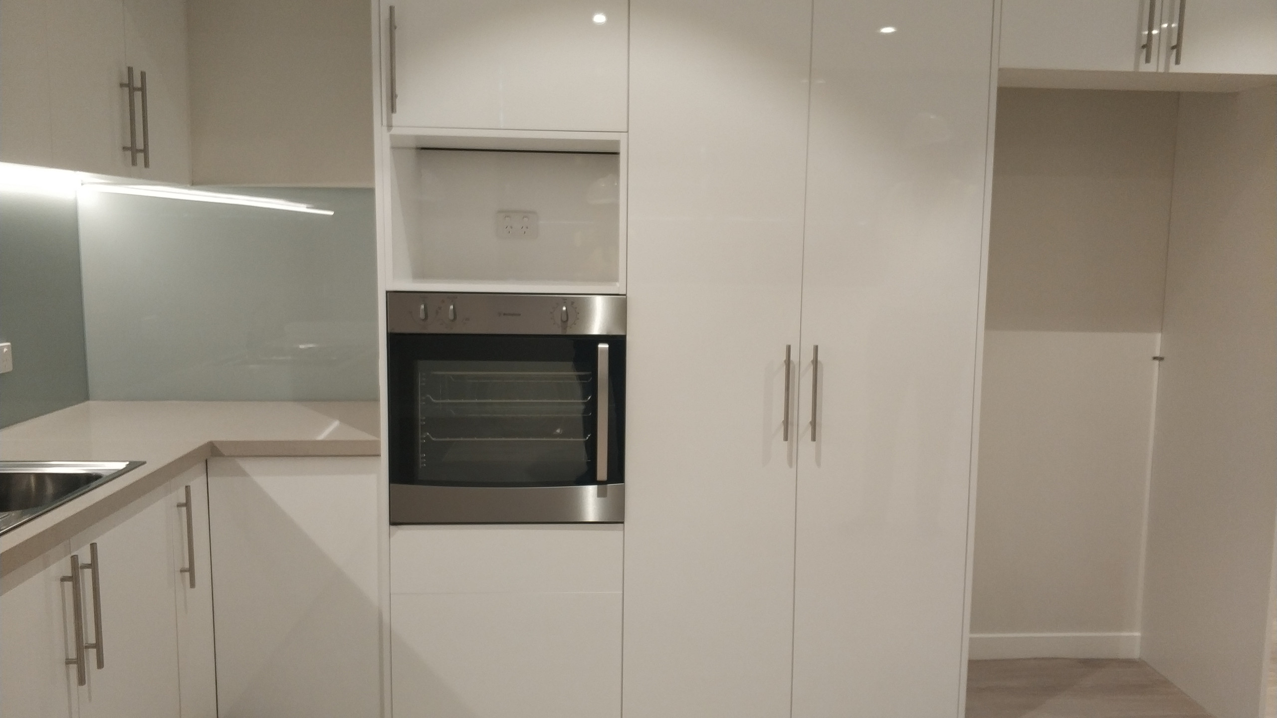 Built in Oven Kitchen Joinery at Toongabbie Project