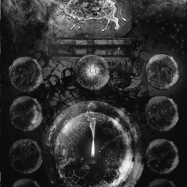 """Filaments"" Digital painting 2015 ©David Allen Reed"