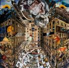 """Entropy"" Paper collage 2017 ©David Allen Reed"
