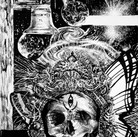 """""""The Anxiety of Dark Energy"""" Cover art for """"Anxiety"""", book series, by Padma Thornlyre  Pen and ink ©David Allen Reed 2018"""